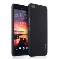 Пластиковый матовый непрозрачный чехол для HTC One X9 Черный