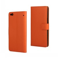 Чехол портмоне подставка с защелкой для HTC One X9 Оранжевый