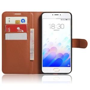 Чехол портмоне подставка с защелкой для Meizu M3 Note