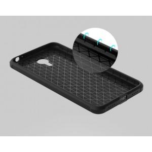 Силиконовый дизайнерский противоударный чехол текстура Дракон для Meizu M3 Note
