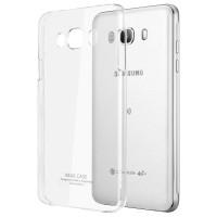 Пластиковый транспарентный чехол для Samsung Galaxy J7 (2016)