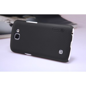 Пластиковый матовый нескользящий премиум чехол для LG K4