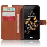 Чехол портмоне подставка с защелкой для LG K8