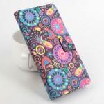 Дизайнерский чехол портмоне подставка с полноповерхностным принтом и застежкой для LG K8