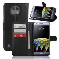 Чехол портмоне подставка с защелкой для LG X cam
