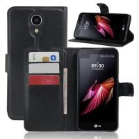 Чехол портмоне подставка с защелкой для LG X view