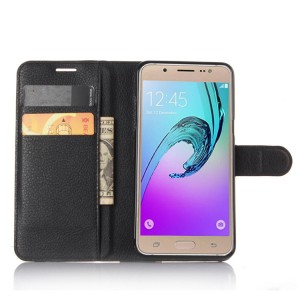 Чехол портмоне подставка с защелкой для Samsung Galaxy J5 (2016)