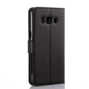 Чехол портмоне подставка с защелкой для Samsung Galaxy J5 (2016) Черный