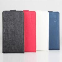 Текстурный чехол вертикальная книжка на клеевой основе с магнитной застежкой для Doogee X6