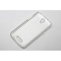 Пластиковый транспарентный чехол для Doogee X6