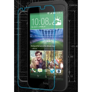 Ультратонкое износоустойчивое сколостойкое олеофобное защитное стекло-пленка для HTC Desire 320