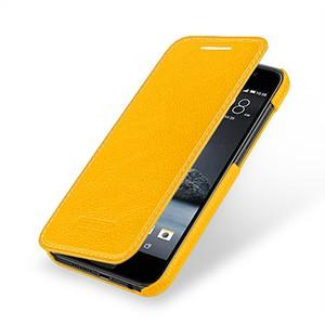 Кожаный чехол горизонтальная книжка (нат. кожа) для HTC One A9