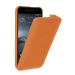 Кожаный чехол вертикальная книжка (нат. кожа) для HTC One A9