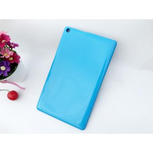 Силиконовый глянцевый непрозрачный чехол для ASUS ZenPad 8