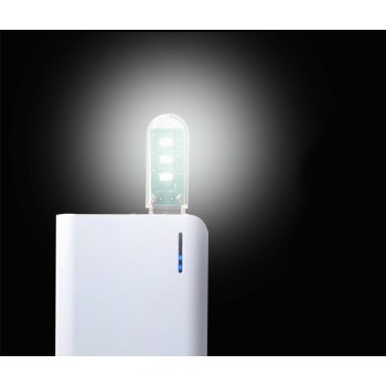 Ультракомпактная LED-лампа 3 светодиода 1.7 Вт в формате USB-накопителя