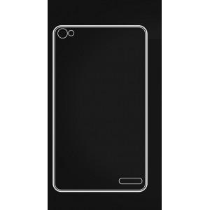 Силиконовый транспарентный чехол для Huawei MediaPad X2 Белый