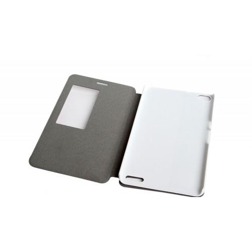 Чехол подставка на пластиковой основе с окном вызова и полноповерхностным принтом для Huawei MediaPad X2