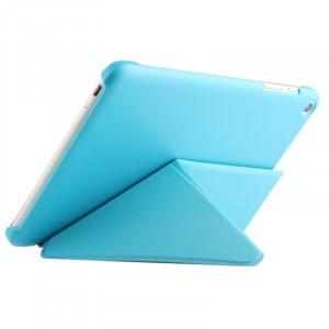 Чехол подставка серия Origami на поликарбонатной основе для Huawei MediaPad X2 Голубой
