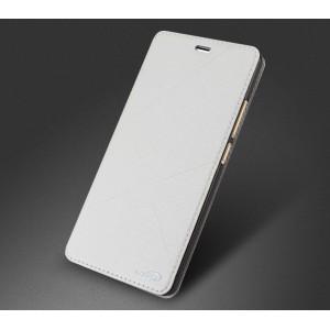 Чехол флип подставка на силиконовой основе текстура Линии для Meizu M3 Note