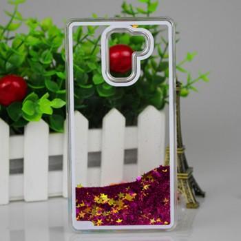 Пластиковый матовый полупрозрачный чехол с внутренней аква аппликацией для Huawei Honor 7