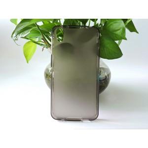 Силиконовый матовый полупрозрачный чехол для Alcatel Idol 4/BlackBerry DTEK50 Серый