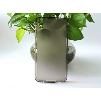 Силиконовый матовый полупрозрачный чехол для Alcatel Idol 4/BlackBerry DTEK50
