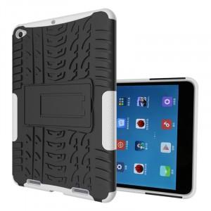 Двухкомпонентный силиконовый чехол с пластиковым бампером и подставкой для Xiaomi Mi Pad 2/MiPad 3