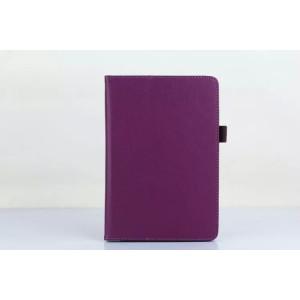 Чехол подставка с рамочной защитой экрана для Xiaomi Mi Pad 2/MiPad 3 Фиолетовый