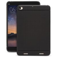 Силиконовый матовый чехол текстура Точки для Xiaomi Mi Pad 2/MiPad 3 Черный