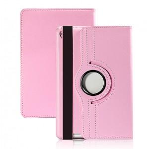 Чехол подставка роторный для Xiaomi Mi Pad 2/MiPad 3 Розовый