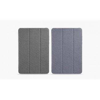 Оригинальный смартчехол подставка на пластиковой основе текстура Джинса для Xiaomi Mi Pad 2/MiPad 3