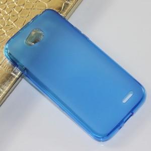 Силиконовый чехол для LG L90 Синий