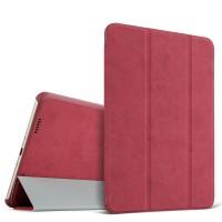 Винтажный чехол смарт флип подставка сегментарный на поликарбонатной основе для Xiaomi Mi Pad 2/MiPad 3 Красный