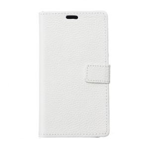 Чехол портмоне подставка с защелкой для Alcatel One Touch Pixi 4 (3.5) Белый