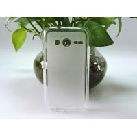 Силиконовый матовый полупрозрачный чехол для Alcatel One Touch Pixi 4 (4) Белый