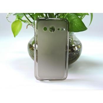Силиконовый матовый полупрозрачный чехол для Alcatel One Touch Pixi 4 (4)
