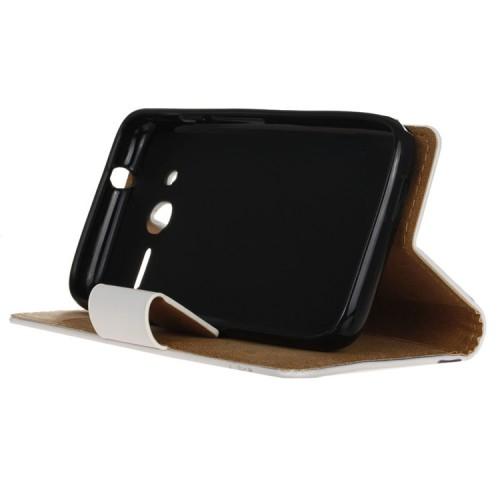 Чехол портмоне подставка с защелкой и полноповерхностным принтом для Alcatel One Touch Pixi 4 (4)