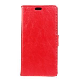 Вощеный чехол портмоне подставка с защелкой для Alcatel One Touch Pixi 4 (4)
