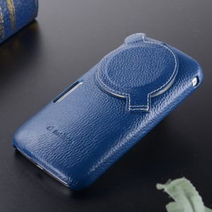 Кожаная накладка с защитой объектива для Samsung Galaxy K Zoom