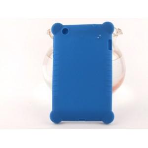 Силиконовый усиленный чехол для планшета Lenovo S5000 Синий