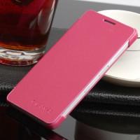 Чехол флип на пластиковой основе для Samsung Galaxy A3 Пурпурный