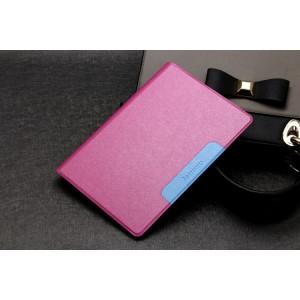 Чехол подставка на силиконовой основе текстура Золото для Lenovo Yoga Tablet 2 10 Пурпурный