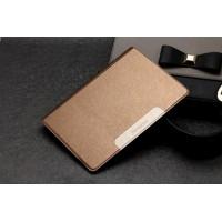 Чехол подставка на силиконовой основе текстура Золото для Lenovo Yoga Tablet 2 10 Бежевый