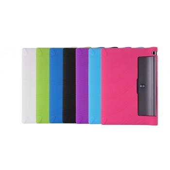 Силиконовый матовый непрозрачный текстурный чехол для Lenovo Yoga Tab 3 10