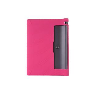 Силиконовый матовый непрозрачный текстурный чехол для Lenovo Yoga Tab 3 10 Пурпурный