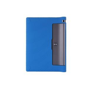 Силиконовый матовый непрозрачный текстурный чехол для Lenovo Yoga Tab 3 10 Синий