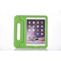 Антиударный силиконовый детский чехол подставка с ручкой для Ipad Pro 9.7 Зеленый