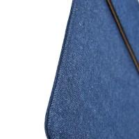 Мешок с тканевым покрытием на магнитной клапане для Ipad Pro 9.7 Синий