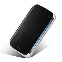 Чехол флип подставка водоотталкивающий для Alcatel One Touch Pop C9 Черный