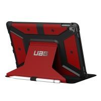 Противоударный двухкомпонентный силиконовый чехол с пластиковым бампером и подставкой для планшета Ipad Pro 9.7 Красный